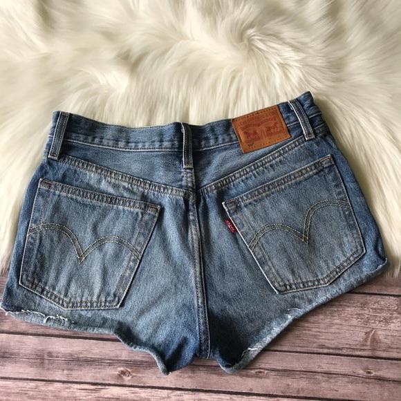 d62d7c9ab3 Levi's Shorts | Levis 501 Denim High Waisted Sz 26 | Poshmark